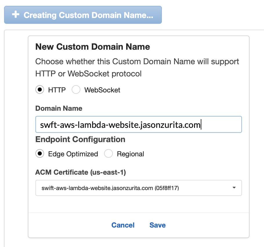Websites using Swift and AWS Lambda — Part 2 | Jason Zurita