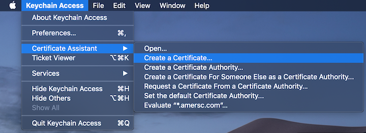 keychain_create_certificate