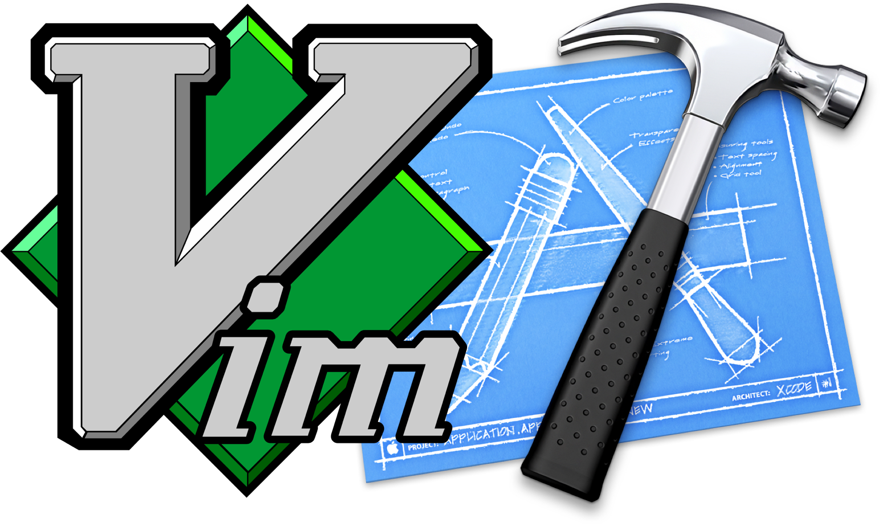 Try vim (even in Xcode!)